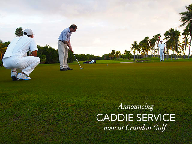 Forecaddie Service at Crandon Golf